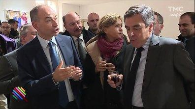 François Fillon chez Jean François Copé, chaude ambiance pour une rencontre