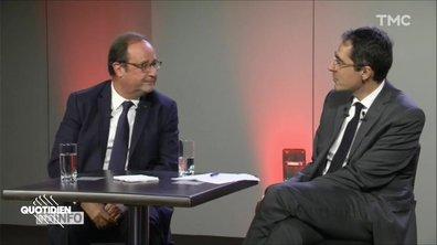 François Hollande n'a pas pu s'en empêcher...