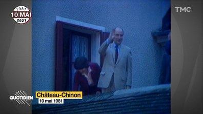 """François Mitterrand : billet retour pour le """"Vieux Morvan"""" à Château-Chinon"""
