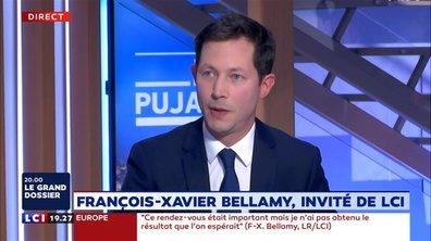 """François-Xavier Bellamy : """"Je vais tout faire pour être à la hauteur des enjeux qui nous attendent aujourd'hui"""""""