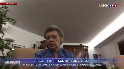 """Françoise Barré-Sinoussi : """"Les tests vont être importants en période de l'après confinement de façon à éviter le redémarrage d'une épidémie"""""""
