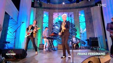 """Franz Ferdinand – """"Lazy Boy"""" en live dans Quotidien"""