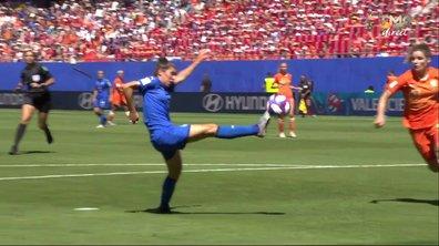 Italie - Pays-Bas (0 - 0) : Voir l'occasion de Bergamaschi en vidéo