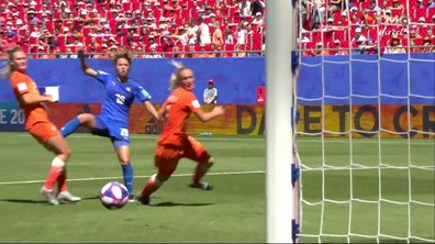 Italie - Pays-Bas (0 - 0) : Voir l'occasion de Giacinti en vidéo