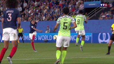 Nigeria - France (0 - 0) : Voir la super frappe de Majri en vidéo