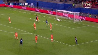 Pays-Bas - Japon (1 - 1) : Voir l'occasion de Nakajima en vidéo