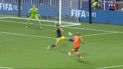 Pays-Bas - Suède (0 - 0) : Voir l'occasion de Van de Sanden en vidéo