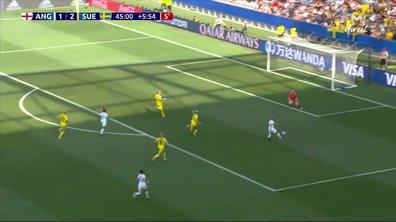 Angleterre - Suède (1 - 2) : Voir l'occasion de White en vidéo