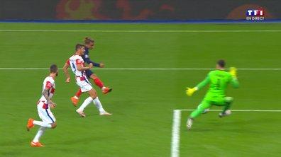 France - Croatie (0 - 1) : Voir l'occasion de Griezmann en vidéo