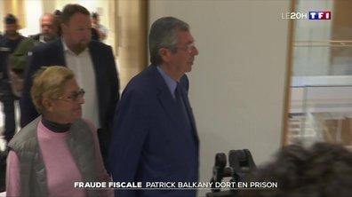 Fraude fiscale : Patrick Balkany dort en prison