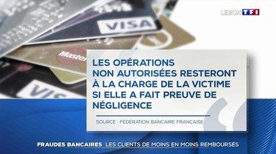 Fraudes bancaires : les clients de moins en moins remboursés