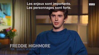 "Freddie Highmore : ""Shaun n'est pas un superhéros"""