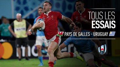 Pays de Galles - Uruguay : Voir tous les essais du match en vidéo