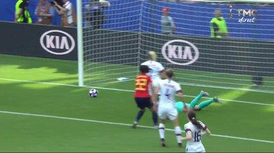 Espagne - Etats-Unis (1 - 1) : Voir la grosse occasion de Guijarro en vidéo