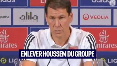 VIDEO - La réaction de Rudi Garcia à la sanction contre Aouar