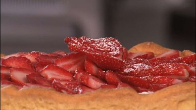 Tarte de fraises Gariguette au citron