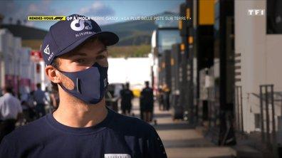 """RDV F1 - GP d'Imola, Pierre Gasly : """"La plus belle piste sur terre"""""""