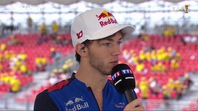 F1 - GP de France : Les objectifs de Pierre Gasly