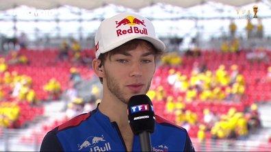 F1 - GP de France : Pierre Gasly rêve de rejoindre Red Bull