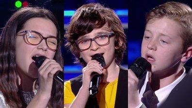 Marie VS Gaspard VS Kylian chantent « Fils à papa » de Vianney (Team Amel Bent)