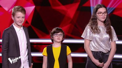 The Voice Kids 6 - BATTLES (Amel Bent) : Qui de Gaspard, Marie ou Kylian a gagné ? (REPLAY)