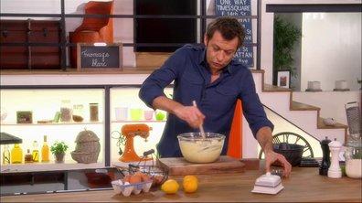 Gâteau au fromage blanc et citron aux graines de pavot