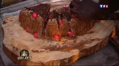 Koh Lanta : les concurrents prêts à tout...pour un gâteau au chocolat !