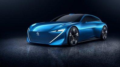 Salon de Genève 2017 : Première photo du concept-car Peugeot Instinct