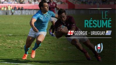 Géorgie - Uruguay : Voir le résumé du match en vidéo