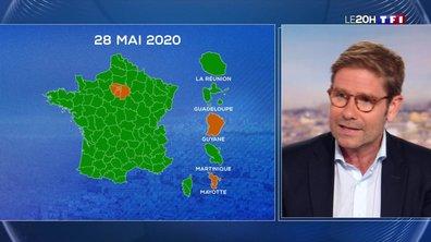 """Gérald Kierzek : """"La carte qui passe du rouge à orange, c'est déjà une bonne nouvelle"""""""