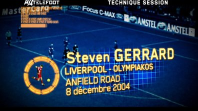 Le Geste Technique : La reprise de volée de Steven Gerrard