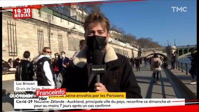 Gestes barrières: quand les journalistes se prennent pour des gendarmes