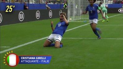 Jamaïque - Italie (0 - 2) : Voir le deuxième but de Girelli en vidéo