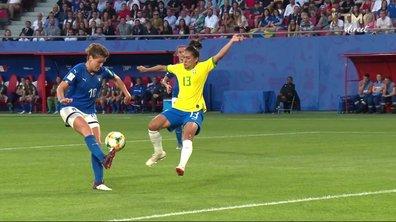 Italie - Brésil (0 - 0) : Voir le but refusé de Girelli en vidéo