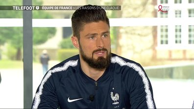 """[EXCLU Téléfoot 25/03] - Giroud revient sur son 30e but avec les Bleus : """"Une fierté d'être avec des légendes"""""""