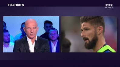 """[EXCLU Téléfoot 03/12] - Equipe de France / Stephan : """"Le temps de jeu de Giroud est insuffisant, il faut qu'il trouve une solution"""""""
