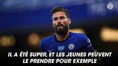 Le coach de Chelsea Franck Lampard encense Giroud