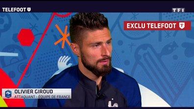 [Exclu Téléfoot] Olivier Giroud : « Se remettre en cause et travailler »