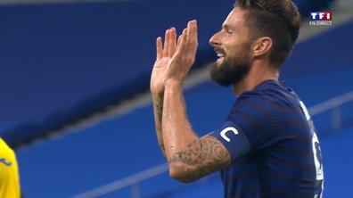 France - Ukraine (3 - 0) : Voir le doublé de Giroud en vidéo