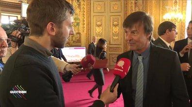 Glyphosate : couac entre Nicolas Hulot et le ministre de l'Agriculture