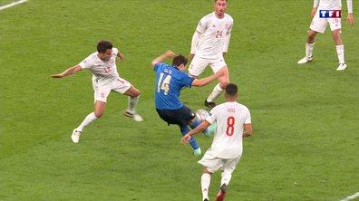Italie - Espagne (1 - 0) : Voir le but de Chiesa en vidéo
