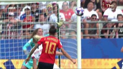 Espagne - Etats-Unis (1 - 1) : Voir le but d' Hermoso en vidéo