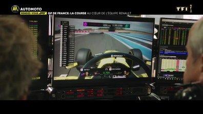 GP de France : La Course au cœur de l'équipe Renault
