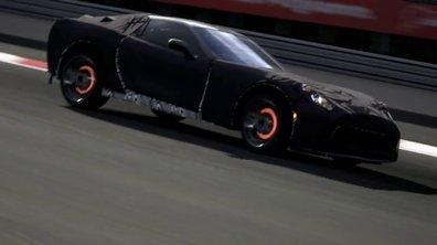 Vidéo : la future Corvette C7 en teaser, et dans GT5