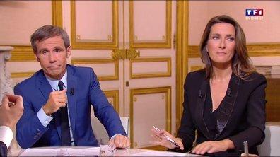 """Emmanuel Macron : """"je ne crois pas à la théorie du ruissellement"""" (TF1)"""