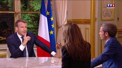 Macron sur la réforme de l'ISF (TF1)