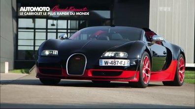 Grand Format - Bugatti Veyron GS Vitesse : La décapotable la plus rapide au monde