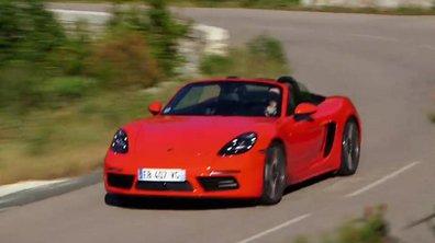 Le Porsche 718 Boxster 2016 à l'essai