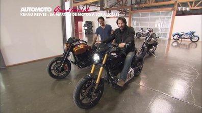 Grand Format : Keanu Reeves et sa marque moto Arch à Los Angeles