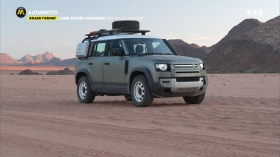 Grand format : Land Rover Defender, 800km en Namibie